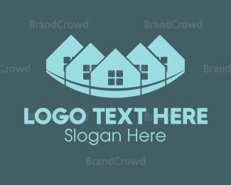 Neighborhood - Rainbow Town logo design