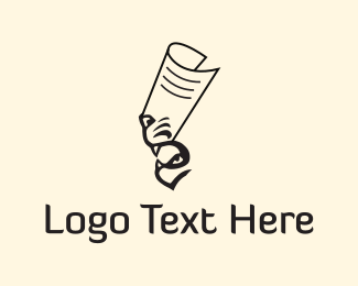Blogging - Tiger Paper logo design