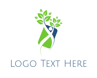 Human - Human Plant logo design