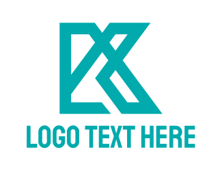 Draftsman - Industrial Tech K logo design