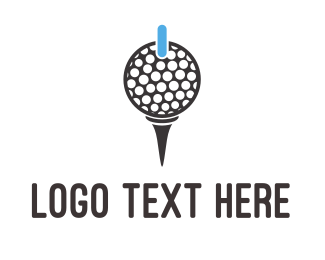 Birdie - Power Golf logo design