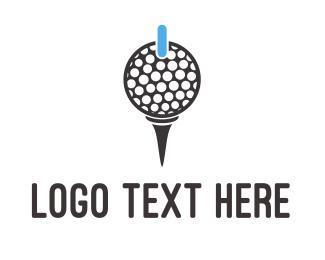 Power - Power Golf logo design