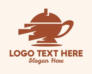 Tea Pot - Tea Pot Shop  logo design