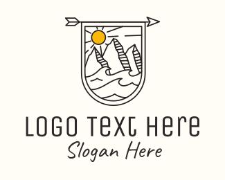 Mountain - Outdoor Mountain Adventure logo design