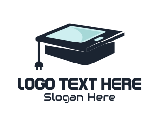 Touchscreen - Digital Education logo design