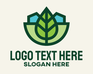 Park - Leaf Park Land logo design