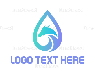 Reptile - Dragon Tears logo design