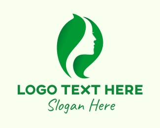 Beauty Product - Green Natural Beauty logo design