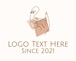 Feminine - Feminine Model Art logo design