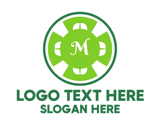 Cloverleaf - Green Cloverleaf Lettermark logo design