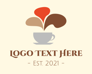 Tea House - Coffee Shop Chat logo design