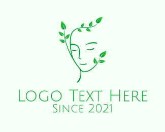 Cosmetics - Green Natural Cosmetics  logo design