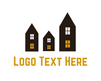 Residence - Neighborhood logo design