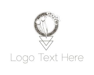 Tulip - Tulip & Orchid logo design