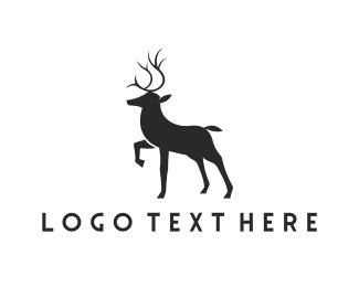 Whiskey - Elegant Deer logo design