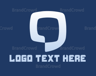 Chat - Blue Chat logo design