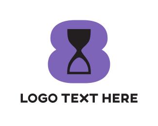Purple Hourglass Logo