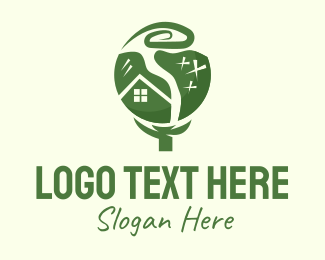 Tree House - Natural Tree House logo design