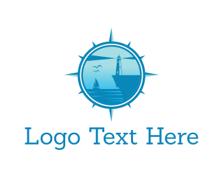 Cruise Ship - Blue Bay logo design