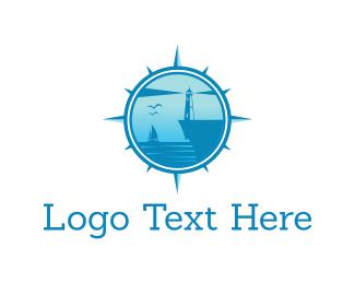 Lighthouse - Blue Bay logo design