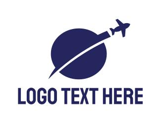 Travel Agency - Travel Chat logo design