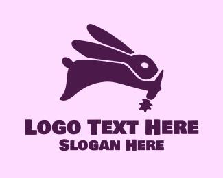 Bunny - Carrot Bunny logo design