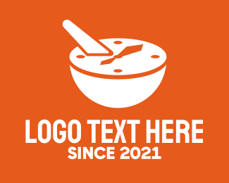 Timer - Mixing Bowl Timer logo design