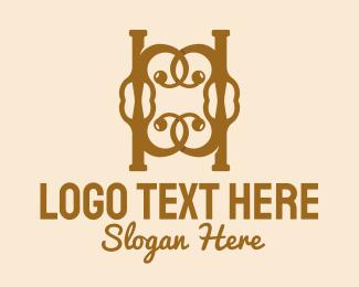 Monogram - Fancy C Monogram logo design