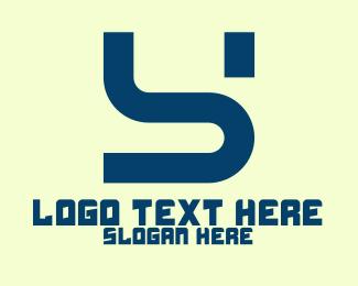 """""""Modern Tech Letter S"""" by DanikBrt"""