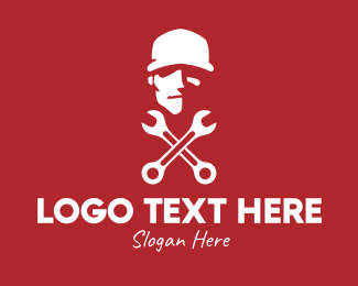 Worker - Mechanic Handyman logo design