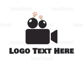 Film - Film Boom  logo design