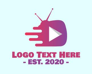 Tv Show - Television Streaming Show logo design