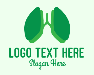 Doctor - Green Lung Doctor logo design