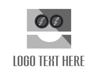 Ai - Robot Face  logo design