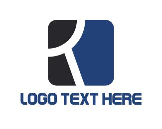 Shape - Letter R logo design