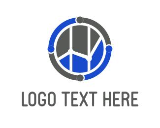 Exchange - Financial Circle logo design