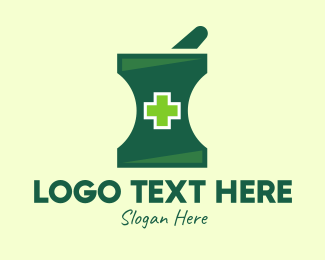 Healing - Green Cross Healing logo design