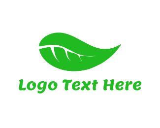 May - Green Leaf logo design