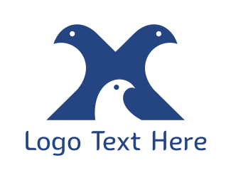Pigeon - Pigeon Family logo design