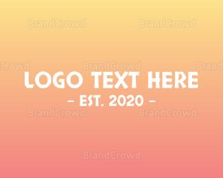 Wordmark - Hawaiian Wordmark logo design