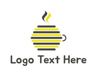 Hot Drink - Honey Drink logo design