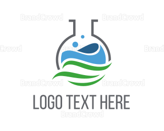 Biology - Eco Laboratory logo design