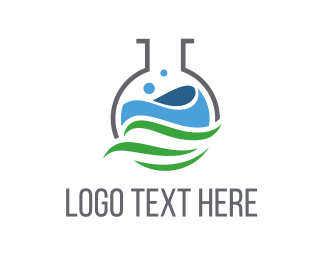 Solution - Eco Laboratory logo design