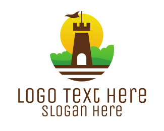 Big Ben - Castle Garden logo design