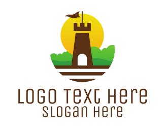 Garden - Castle Garden logo design