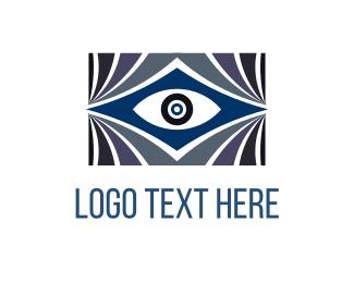 Theater - Blue Eye logo design