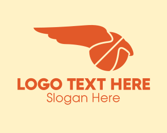 Basketball Court - Basketball Wing  logo design