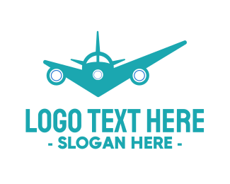 Airline - Check Flights logo design