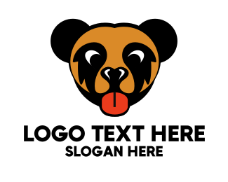 Tongue - Brown Cub logo design