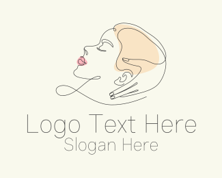 Cosmetic - Aesthetic Beauty Woman logo design